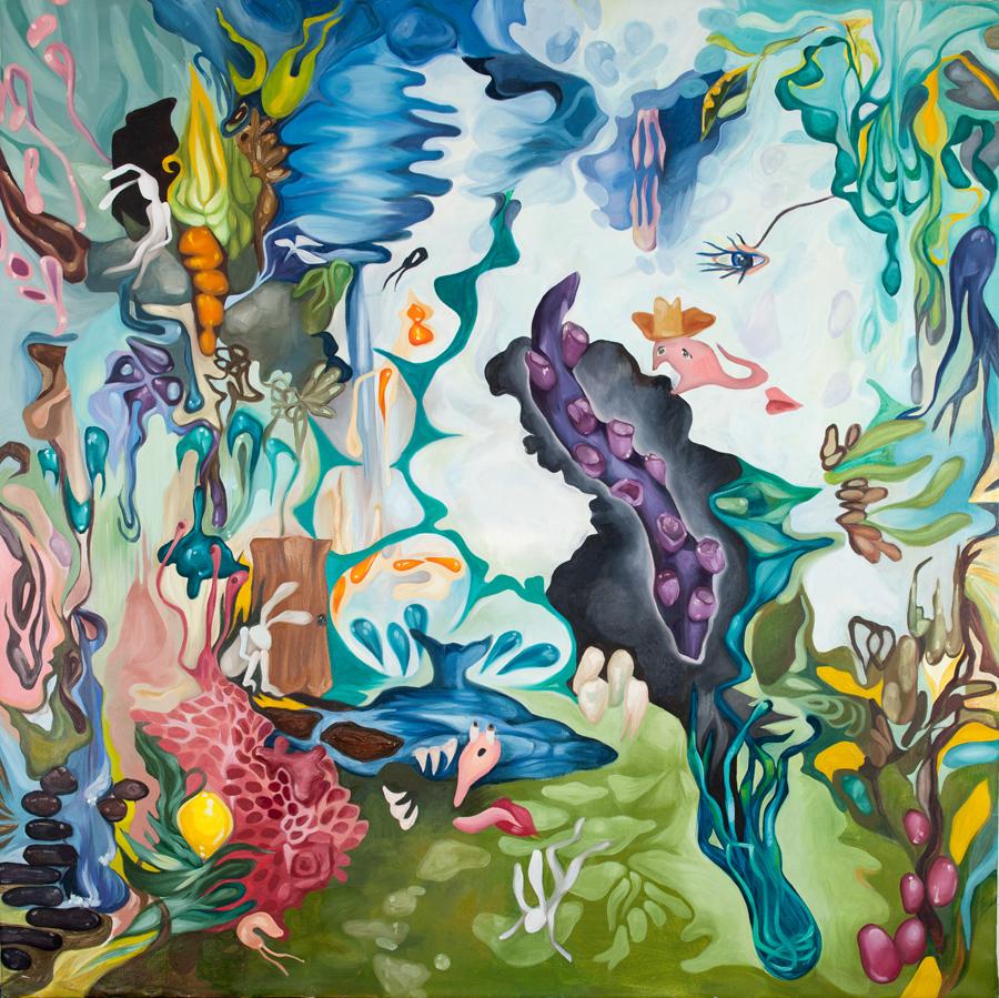 "2006 | 56x56"" Oil on Canvas"