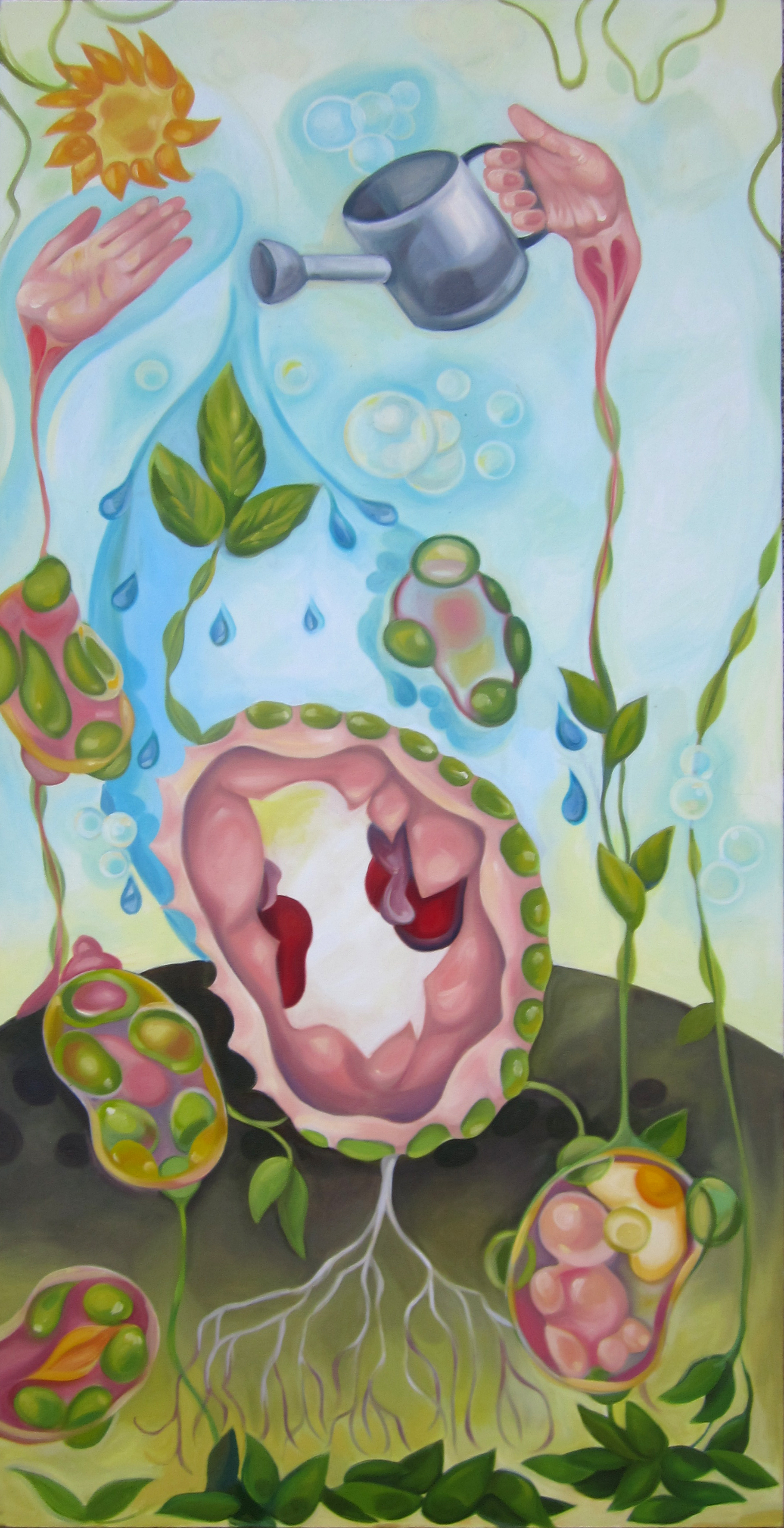 2012   24×48″ Oil on Canvas