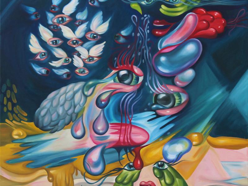 """""""The Escape"""", 2015, 40x30"""", Oil on Canvas"""