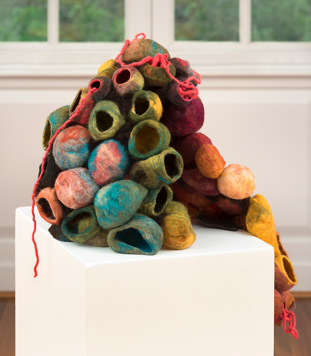 Nesting Instincts sculpture by emerging artist Emily Hoxworth